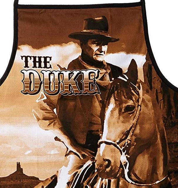 John Wayne BBQ Apron - The Duke – Pinnacle Fun and Games