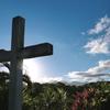 Le Gros-Morne - Une Croix du côté de Morne Poirier - Photo : Hervé