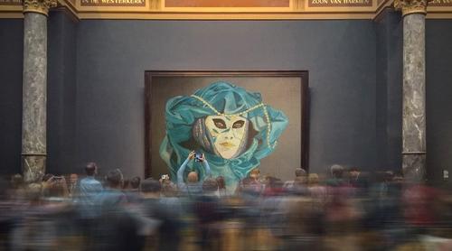 Suite et fin de la visite au musée !!!