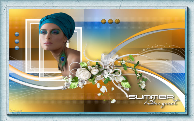 *** 223 Summer Bouquet ***