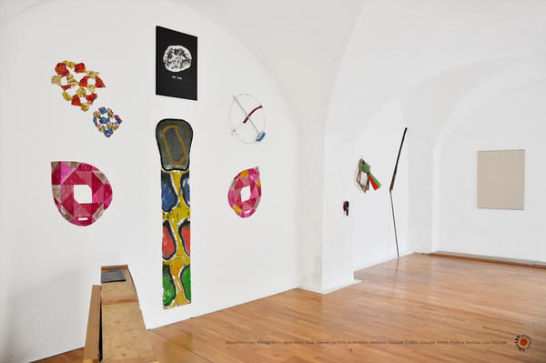 Exposition-les Encadrés-Artistes Le-Priol, Saulnier, Andrieu, Caillol, Viallat, Saytour, McLure