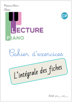 Les exercices de Piano en version individuelle