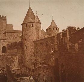 La Cité de Carcassonne, images d'antan...