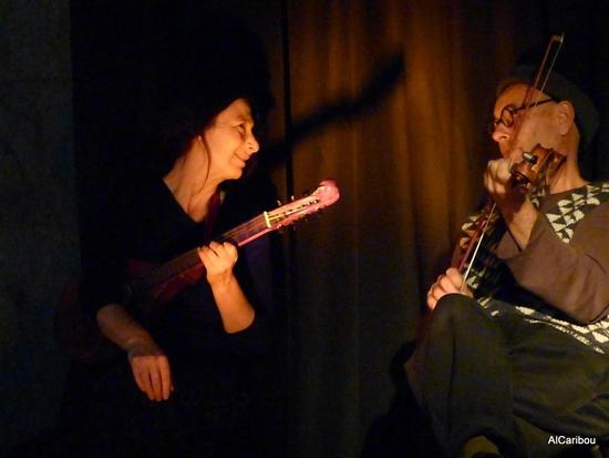 La compagnie du Beau Sauvage : Valérie Loomer et Polo Burguière