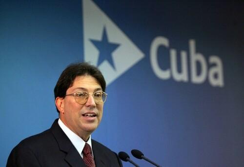 Le chancelier de Cuba a l'ONU pour le vote sur le blocus