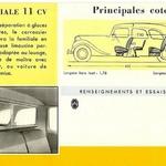 La traction 11 familliale mai 1954