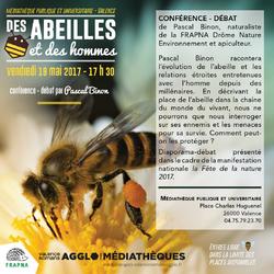 Des abeilles et des hommes : conférence débat