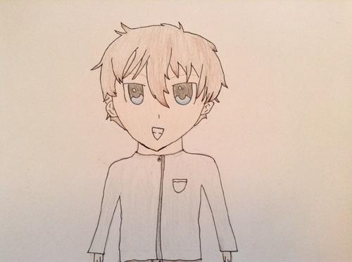 Dessin #2 Garçon manga