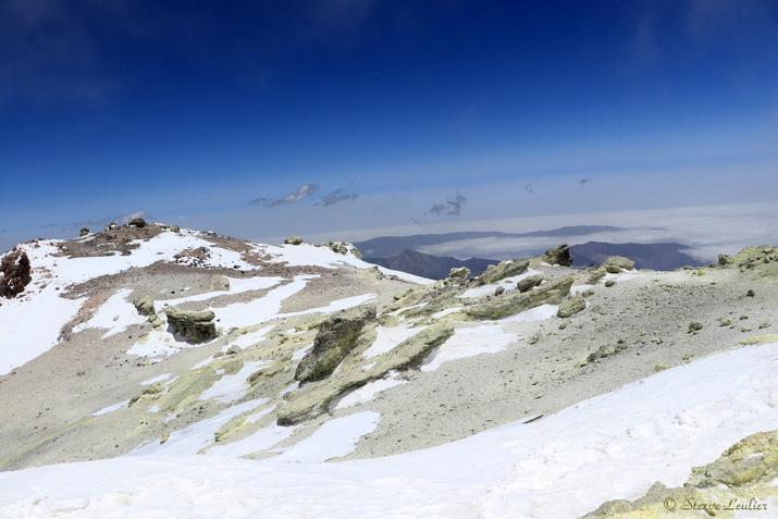 Cratère du Damavand