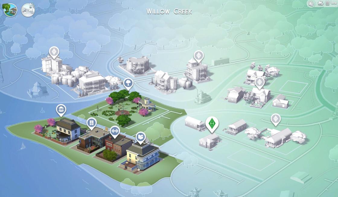 Willow Creek lots communautaires