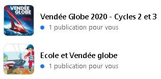 * Projet de classe 2020 ~ 2021 : Vendée Globe et voyage *