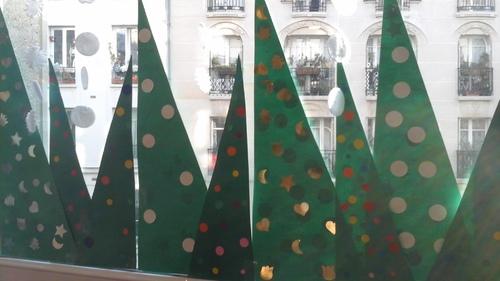 Noël, une classe bien décorée