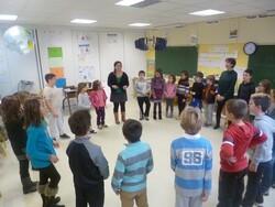 le groupe Chet Nunéta à l'école !