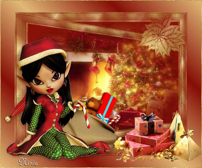 "Vos créations ""elfe de Noël"""