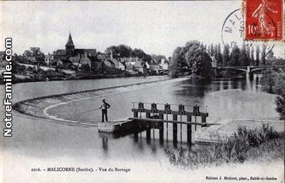 Vue du Barrage