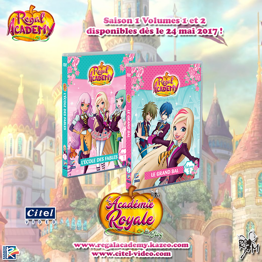Les DVD Regal Academy bientôt en France