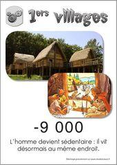 les premiers villages