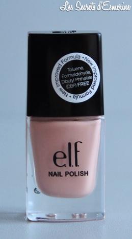 elf, vernis, nail polish, prissy chrissy, les secrets d'esmerine