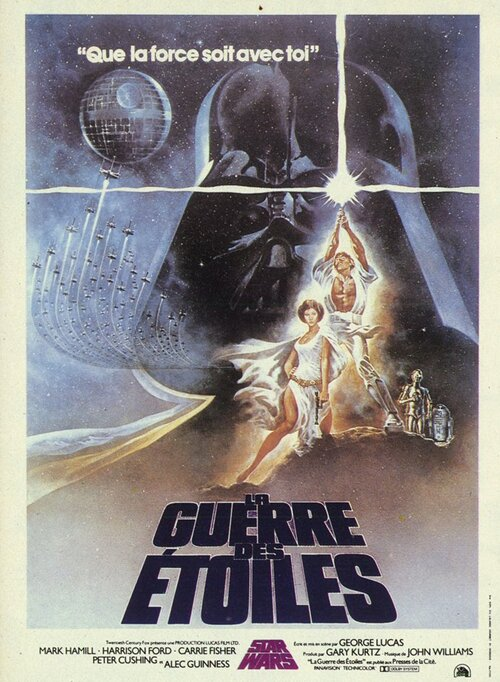 Star Wars Un Nouvel Espoir Affiche