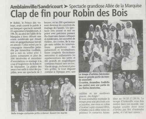 Pour les nostalgiques de ROBIN...