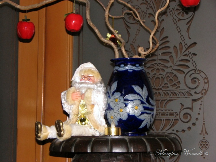 Au temps des marchés de Noël : Chez moi