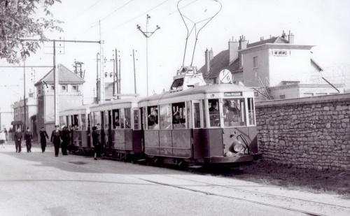 Le tram à Dijon, hier et aujourd'hui...