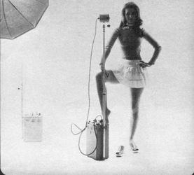 Printemps 1972, avec la mèche.