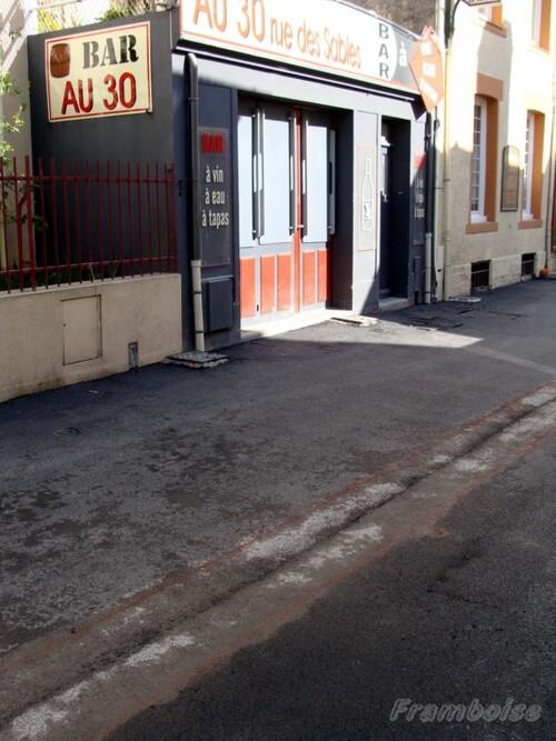 Rue des Sables à Pornic
