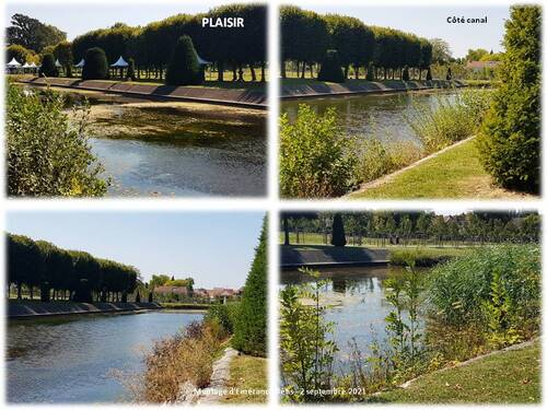 Le parc du château de Plaisir