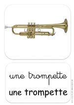 Instruments de musique - affichage