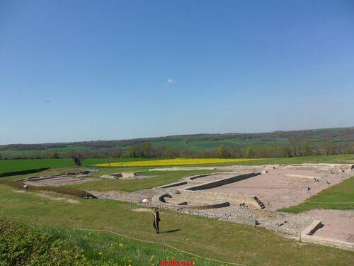 Echappée belle Bourguignonne. Alise-Sainte-Reine. Le site archéologique.