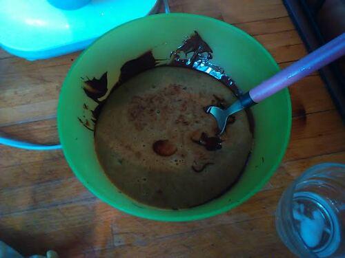 pâte à tartiner chocolat/noisette {Vegan}
