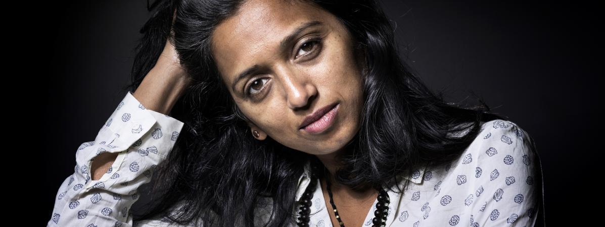 La romancière Nathacha Appanah, septembre 2016