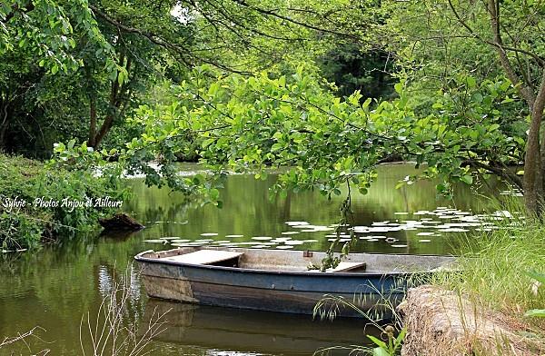 barque sur le thouet