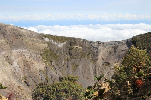 Le volcan Irazú (Costa Rica)