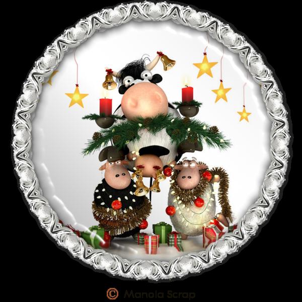 Médaillons de Noël 2