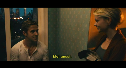 Ryan Gosling and Carey Mulligan fall in love