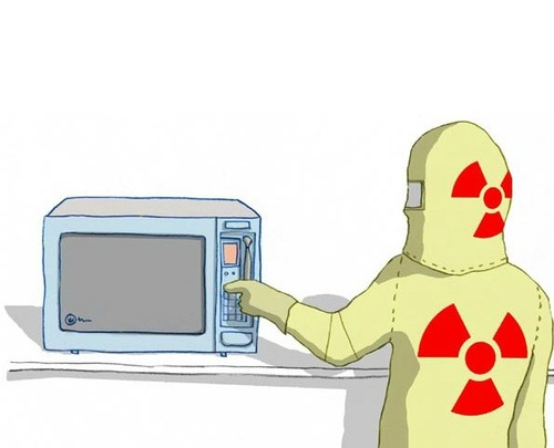 5 diseases caused by microwave oven.