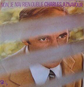 Défi Octobre - Charles Aznavour : Jour 8