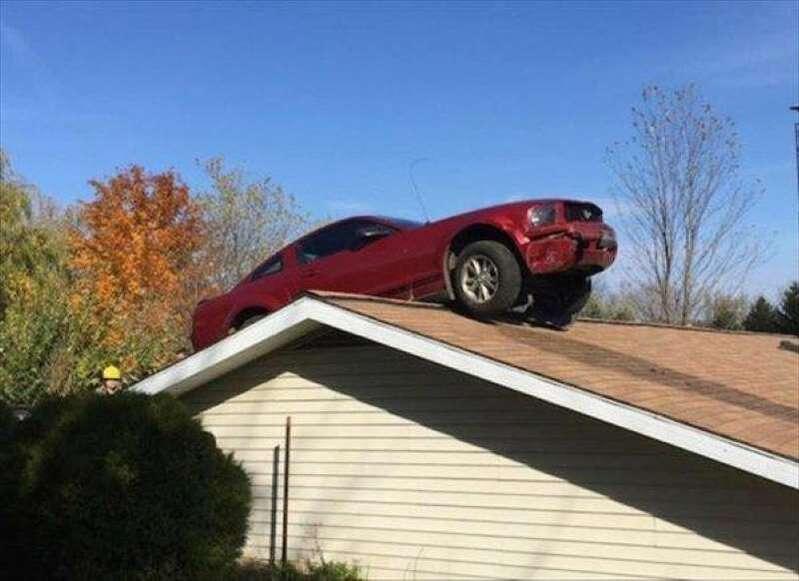 Les accidents de voiture les plus improbables !