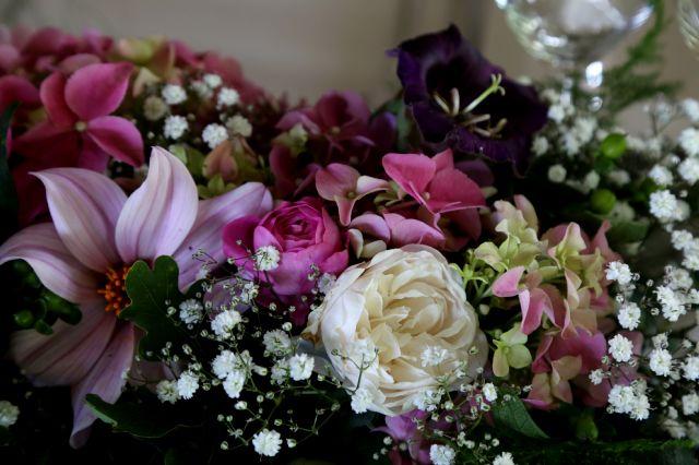 Mariage au pays des roses