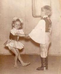 3. Szögre akasztott balettcipő