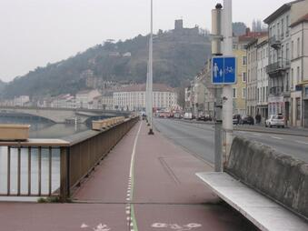 Axe Nord-Sud: 8.5 kilomètres de voies cyclables