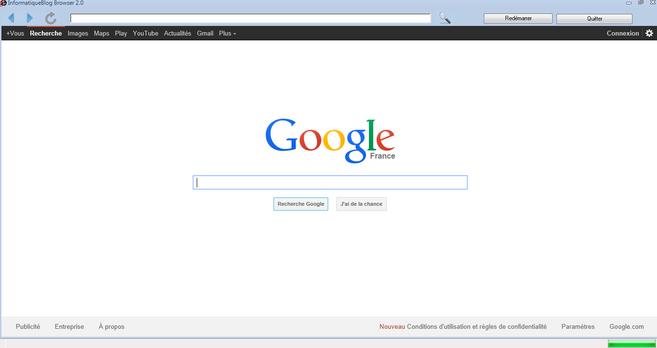 InformatiqueBlog Browser