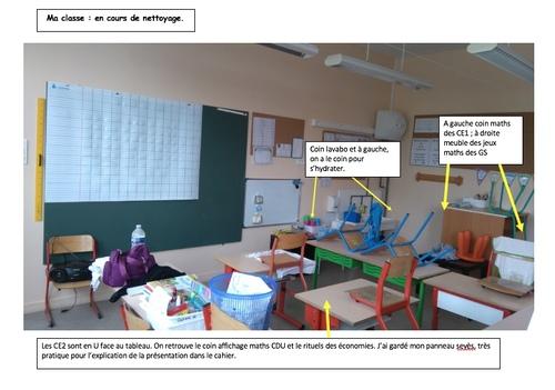 Aménagement de ma classe GS/CE2