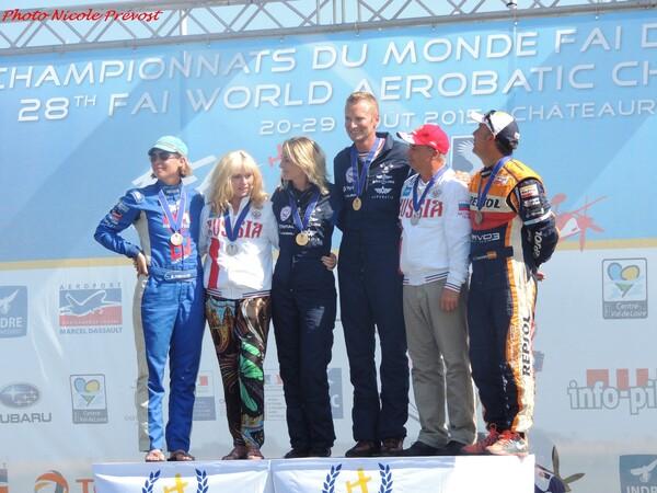 Le championnat du monde de voltige à Châteauroux vu par Nicole Prévost