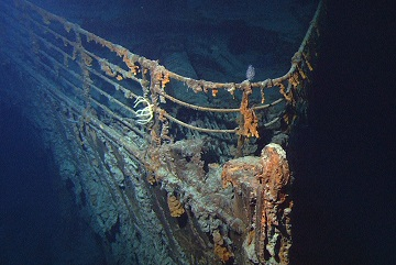 Pourquoi l'épave du Titanic est en train de disparaitre ...
