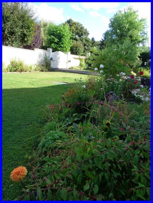 les changements au jardin