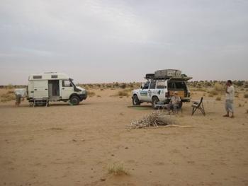mauritanie route de l'espoir premier bivouac 1
