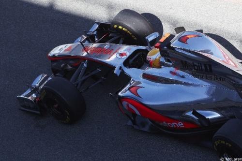 """Hamilton juge les progrès de McLaren """"extrêmement encourageants"""""""